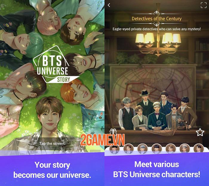 Game casual về nhóm nhạc nam đình đám BTS Universe Story ra mắt tại 173 quốc gia 0