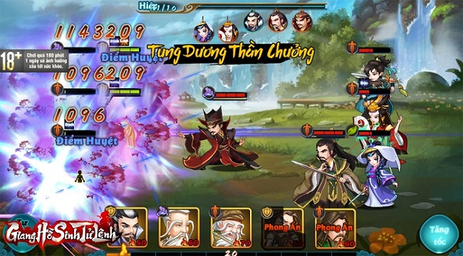 Tặng 1000 giftcode game Giang Hồ Sinh Tử Lệnh
