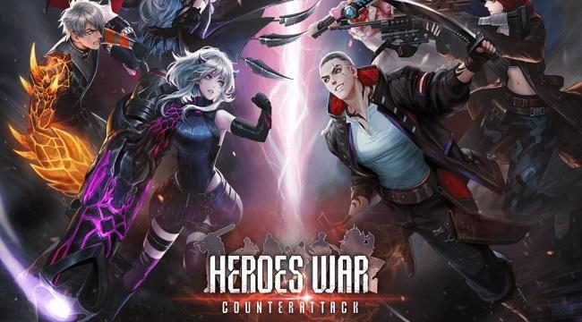 Game nhập vai thẻ tướng Heroes War Counterattack mở đăng kí trước toàn cầu