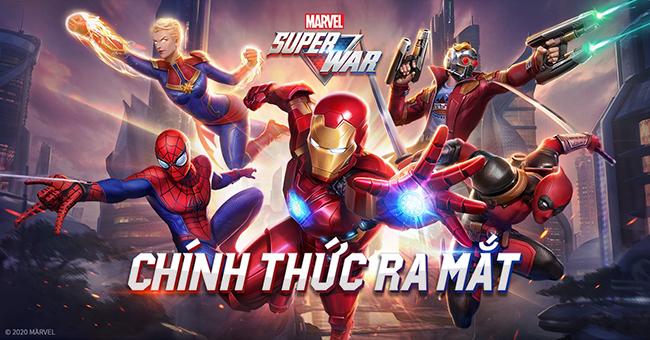 MARVEL Super War VN xác nhận ngày ra mắt chính thức, độc lập với bản quốc tế