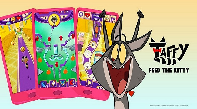 Taffy: Feed The Kitty – Game xếp hình pinball lấy cảm hứng từ phim hoạt hình