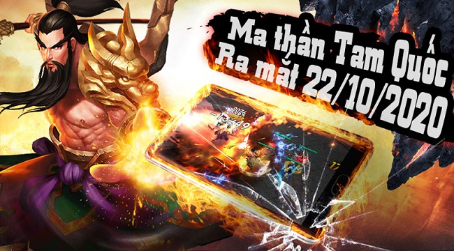 Tặng 200 giftcode game Ma Thần Tam Quốc