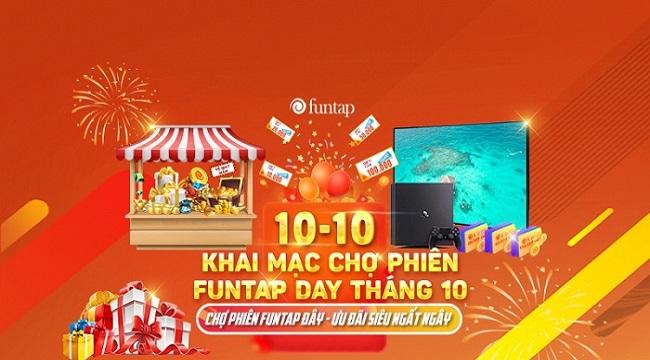 Funtap Day chiếm trọn spotlight với sự kiện nhận quà cực chất