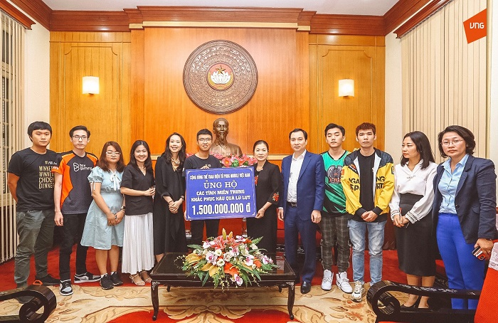 Cộng đồng PUBG Mobile VN ủng hộ 1,5 tỷ đồng tới đồng bào miền Trung 1