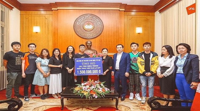 Cộng đồng PUBG Mobile VN ủng hộ 1,5 tỷ đồng tới đồng bào miền Trung