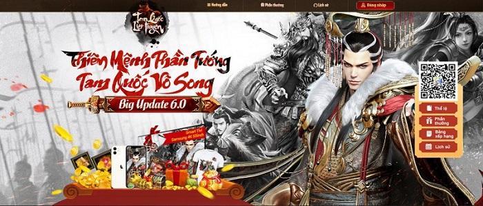 Cơ hội sở hữu TV 4K 55inch và loạt quà khủng cùng vòng quay Tam Quốc Liệt Truyện 0