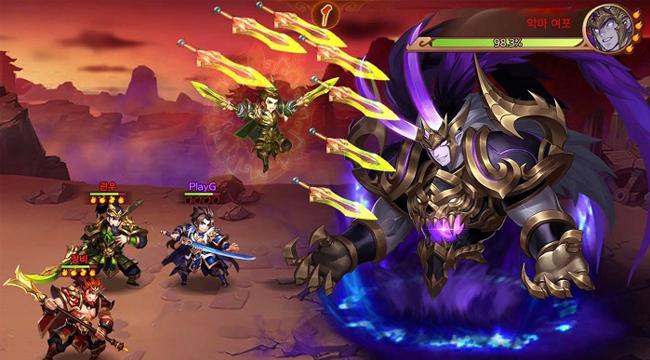 Dynasty Scrolls – Game nhập vai có hệ thống kết hợp kĩ năng độc đáo