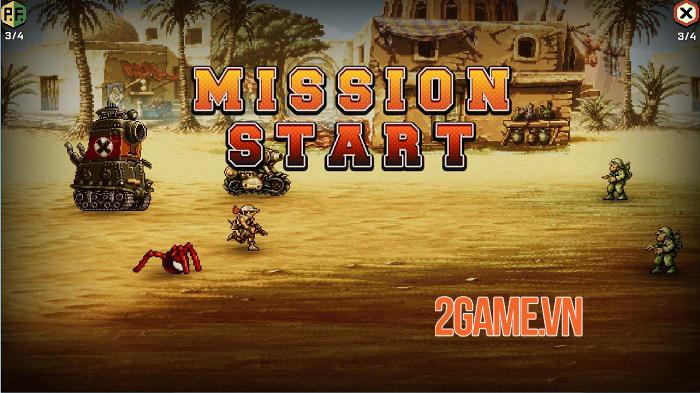 Người chơi toàn cầu đã có thể tải và trải nghiệm Metal Slug Commander 1