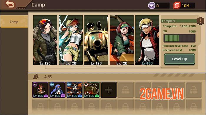 Người chơi toàn cầu đã có thể tải và trải nghiệm Metal Slug Commander 4