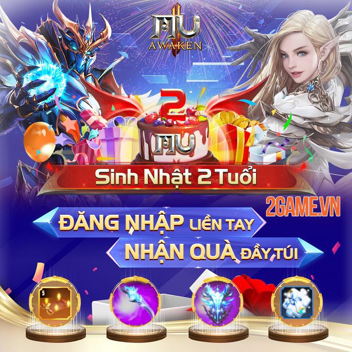 MU Awaken VNG chiêu đãi chuỗi sự kiện ingame tưng bừng quà tặng mừng phiên bản mới 1