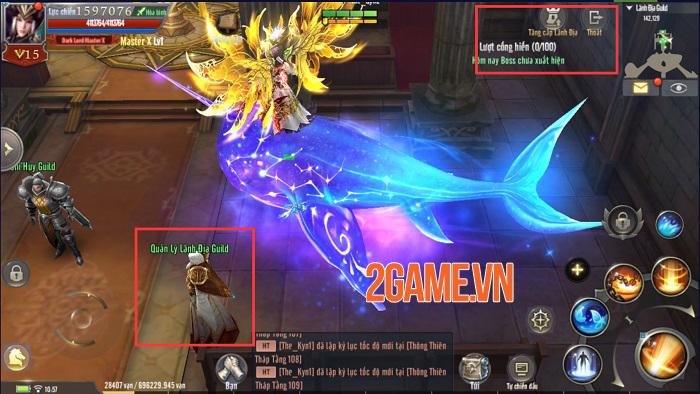 Những tính năng mới đặc sắc trong phiên bản mới của MU Awaken VNG 6