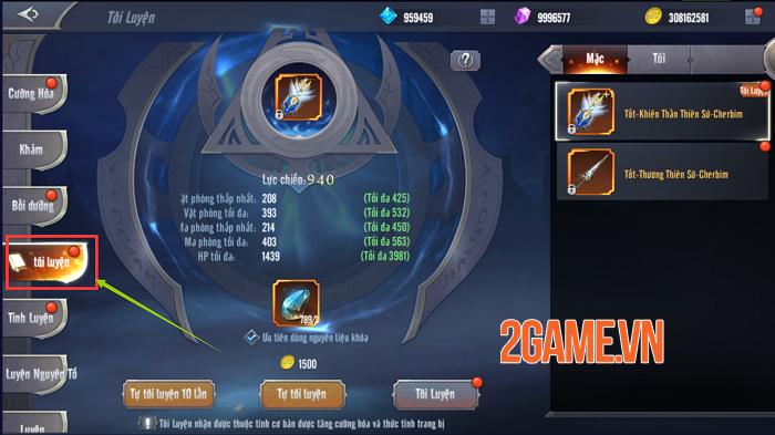 Những tính năng mới đặc sắc trong phiên bản mới của MU Awaken VNG 2