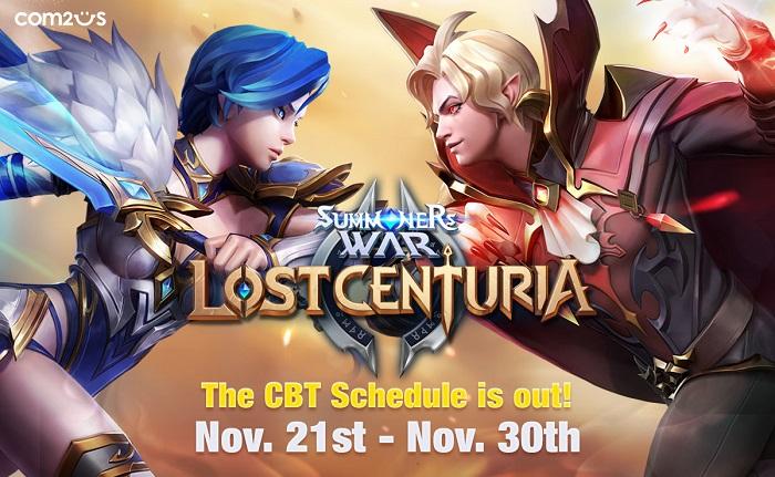 Summoners War: Lost Centuria ấn định thời gian CBT trên toàn cầu 0