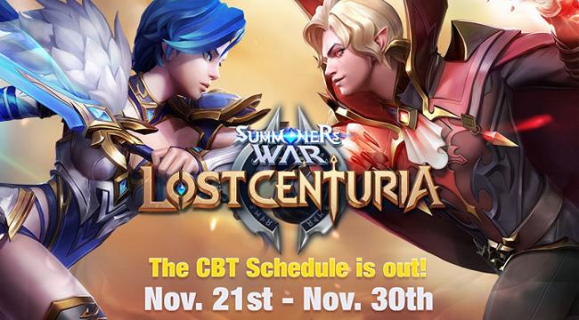 Summoners War: Lost Centuria ấn định thời gian CBT trên toàn cầu