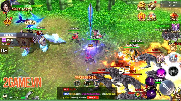 Giang Hồ Tu Tiên sở hữu gameplay hội tụ tinh hoa trong tinh hoa 1