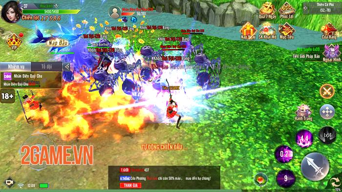 Giang Hồ Tu Tiên sở hữu gameplay hội tụ tinh hoa trong tinh hoa 2