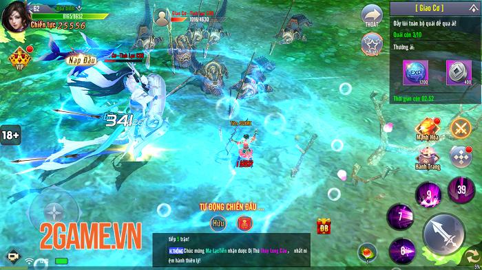 Giang Hồ Tu Tiên sở hữu gameplay hội tụ tinh hoa trong tinh hoa 5