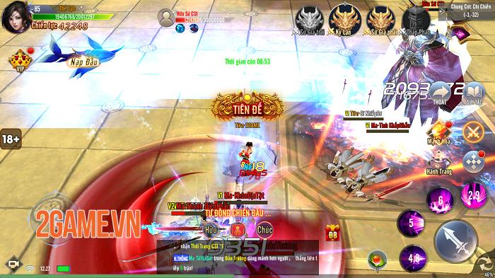 Giang Hồ Tu Tiên sở hữu gameplay hội tụ tinh hoa trong tinh hoa 9