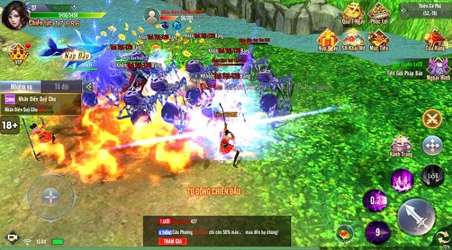 Giang Hồ Tu Tiên sở hữu gameplay hội tụ tinh hoa trong tinh hoa