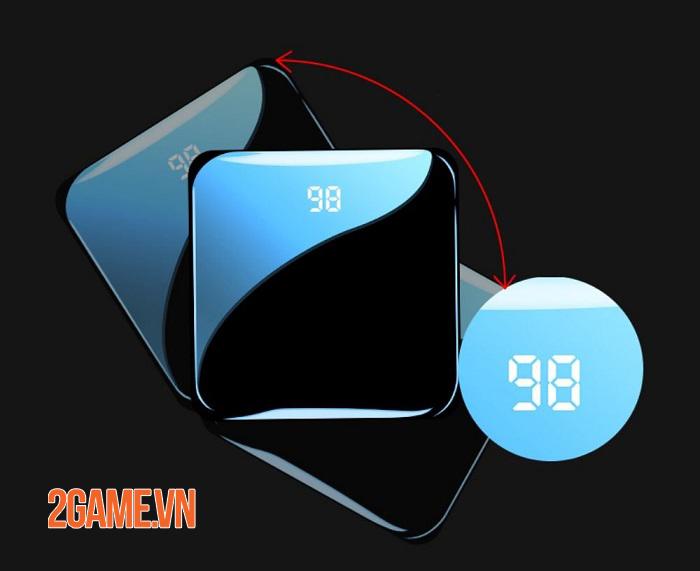Là một game thủ thì không thể bỏ qua sạc dự phòng PISEN Mini Mirror 10000mAh 1