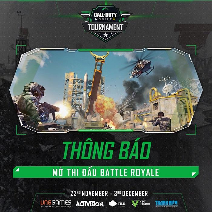 Giải đấu online Call of Duty Mobile Tournament chính thức khởi tranh 1