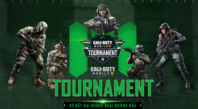 Giải đấu online Call of Duty Mobile Tournament chính thức khởi tranh