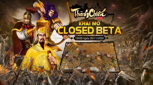 Thành Chiến Mobile chính thức bước vào giai đoạn Closed Beta