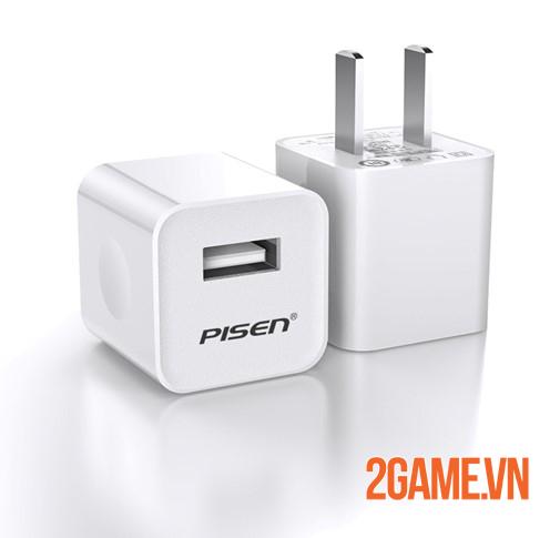 Củ sạc PISEN i Charger 1A - Sự thay thế hoàn hảo cho sạc chính hãng iphone 1