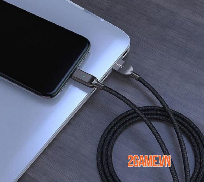 Cáp sạc Pisen Lightning ZINC intelligent Power-off 2000mm – Sạc nhanh mà vẫn đảm bảo an toàn 4