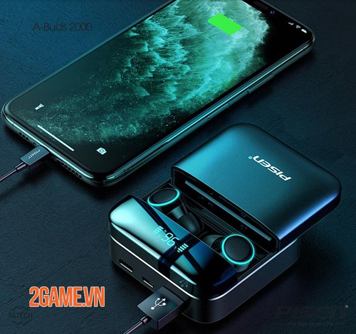 Tai nghe PISEN True Wireless A-Buds2000 - Tai nghe không dây cực hot 0