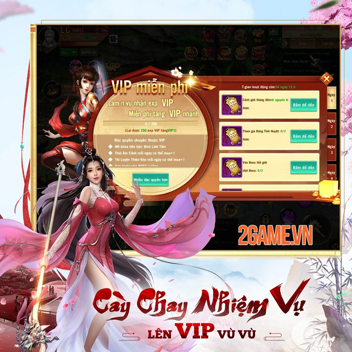 Phong Vân Chí VTC - Game cày cuốc rớt đồ đầy đất cập bến game Việt 3