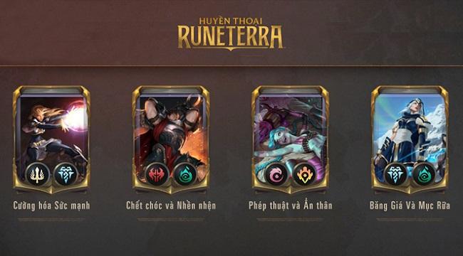 4 bộ bài Huyền Thoại Runeterra mở đầu hoàn toàn miễn phí tân thủ cần biết