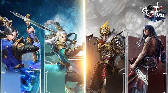 Game nhập vai Giang Hồ Tu Tiên Mobile ấn định ngày ra mắt chính thức