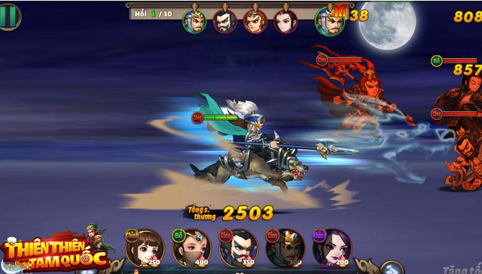 Thiên Thiên Tam Quốc -Game tinh hoa chiến thuật turn-based đẳng cấp
