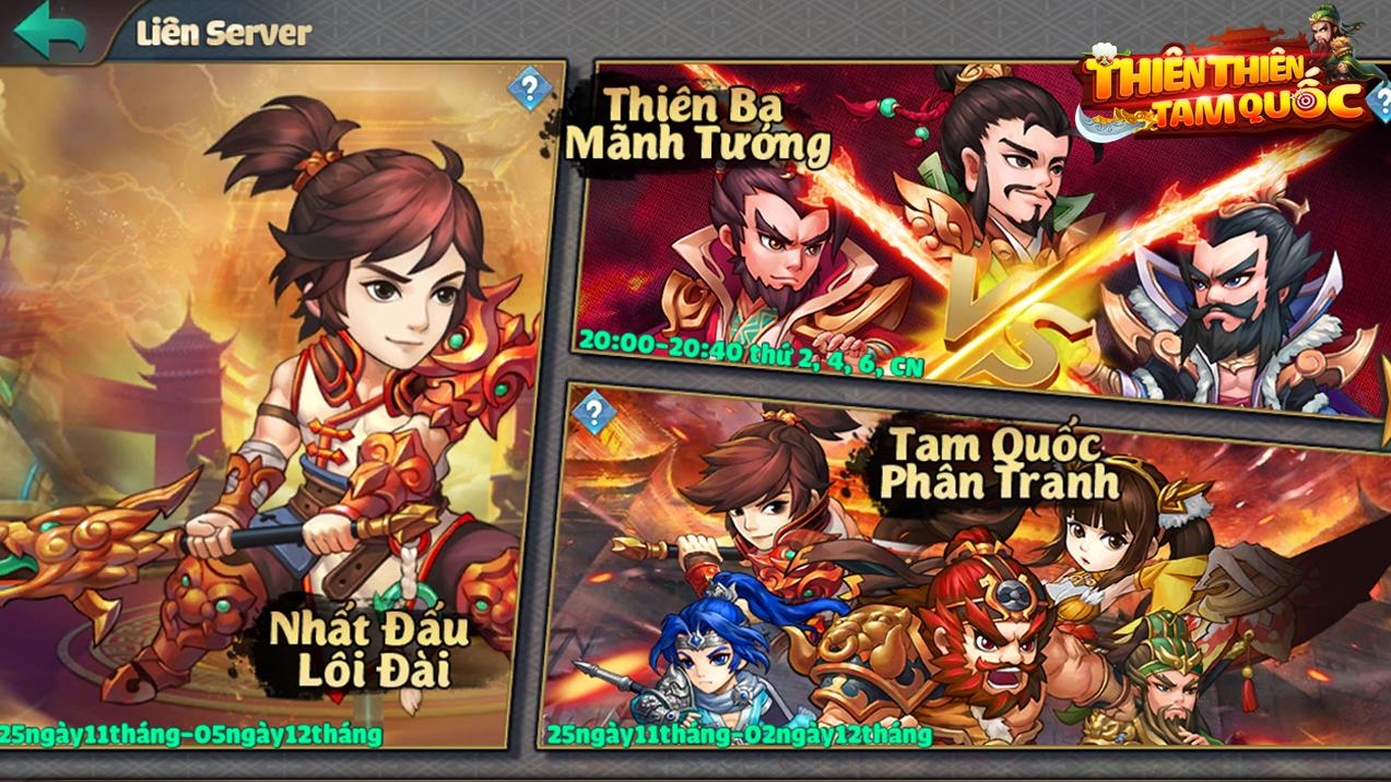 """Thiên Thiên Tam Quốc -Game tinh hoa chiến thuật turn-based đẳng cấp """"tối thượng"""""""