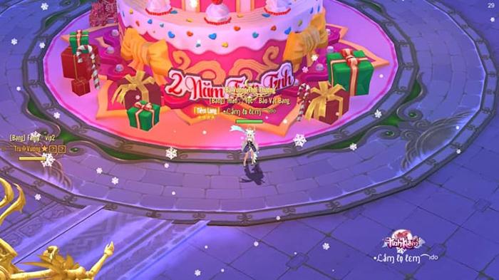 Tình Kiếm 3D cập nhật ngày 9/12: Không khí Giáng Sinh tràn ngập Kim Lăng thành