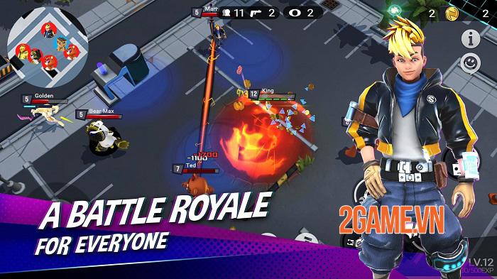Battlepalooza - Game battle royale đưa địa điểm trong thế giới thực vào bản đồ 3