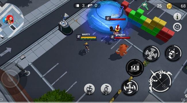 Battlepalooza – Game battle royale đưa địa điểm trong thế giới thực vào bản đồ