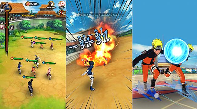 Trải nghiệm Thời Đại Ninja: Không những được chơi game còn được đọc manga