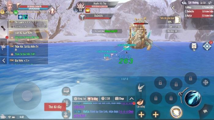Perfect World VNG tung phiên bản mới Hàn Băng Lục Địa đón giáng sinh 1