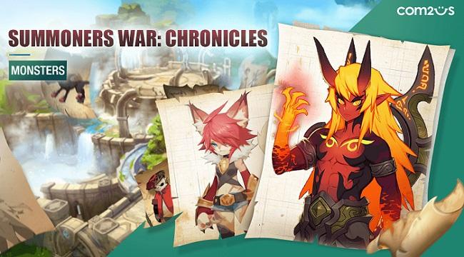 Summoners War: Chronicles phô diễn đồ họa phong cách hoạt hình sống động
