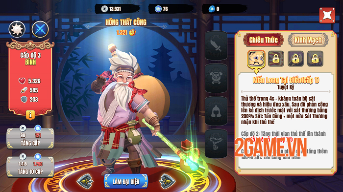 Trải nghiệm Kiếm Hiệp Việt: Game thẻ tướng người Việt sản xuất cũng không kém ai 2
