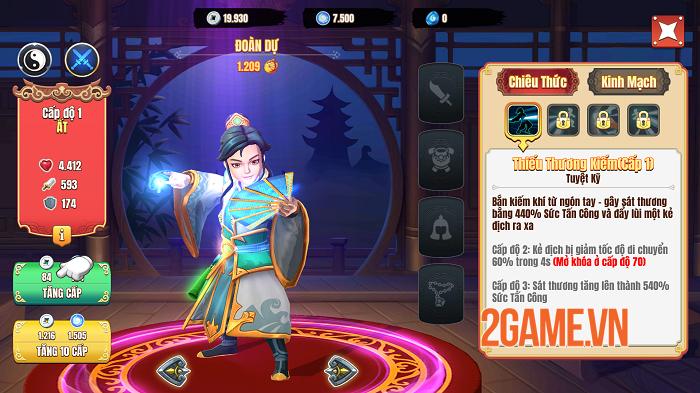 Trải nghiệm Kiếm Hiệp Việt: Game thẻ tướng người Việt sản xuất cũng không kém ai 3