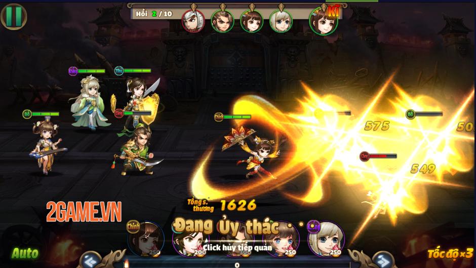 Trải nghiệm Thiên Thiên Tam Quốc: Game thẻ tướng chibi đậm màu sắc huyền ảo 2