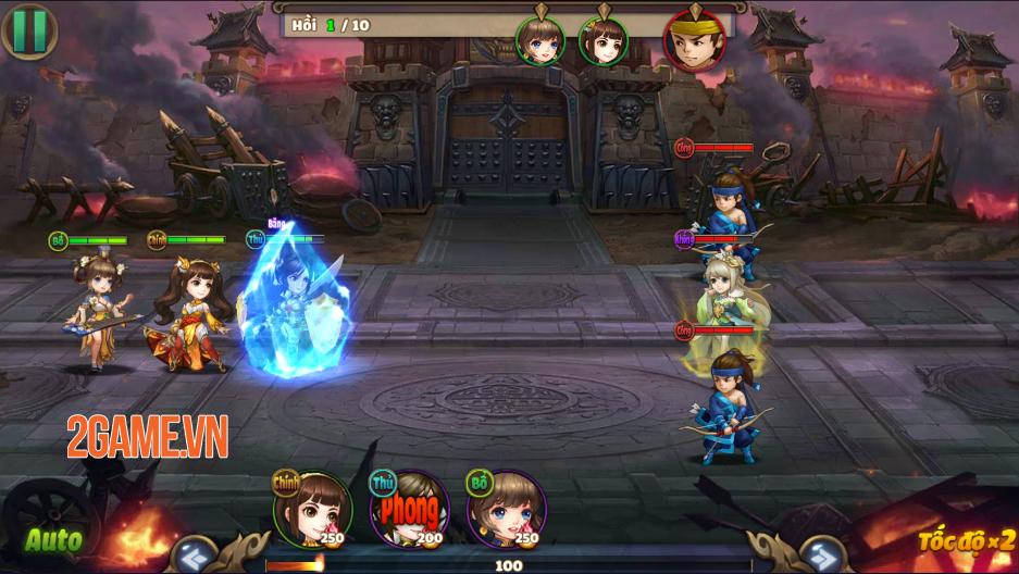 Trải nghiệm Thiên Thiên Tam Quốc: Game thẻ tướng chibi đậm màu sắc huyền ảo 3