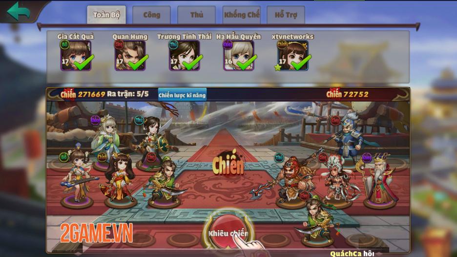 Trải nghiệm Thiên Thiên Tam Quốc: Game thẻ tướng chibi đậm màu sắc huyền ảo 5