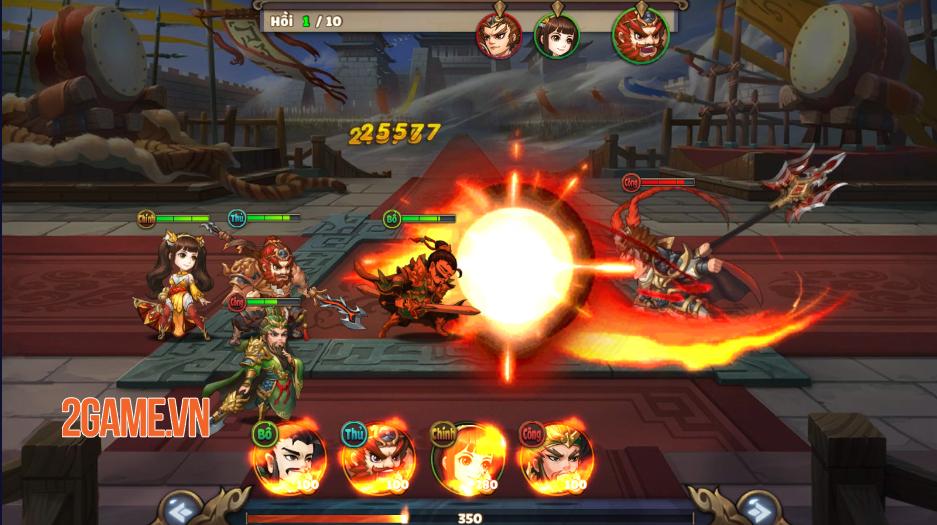 Trải nghiệm Thiên Thiên Tam Quốc: Game thẻ tướng chibi đậm màu sắc huyền ảo 6
