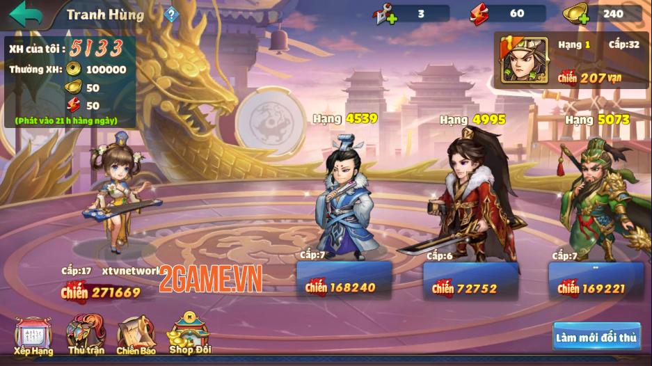 Trải nghiệm Thiên Thiên Tam Quốc: Game thẻ tướng chibi đậm màu sắc huyền ảo 7
