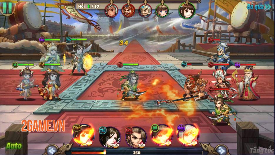 Trải nghiệm Thiên Thiên Tam Quốc: Game thẻ tướng chibi đậm màu sắc huyền ảo 8