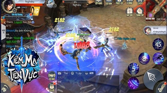 Kiếm Ma Tiên Vực – Game tiên hiệp nhiều tính năng đặc sắc sắp ra mắt